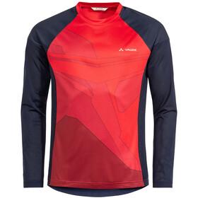 VAUDE Moab VI LS T-Shirt Men, mars red